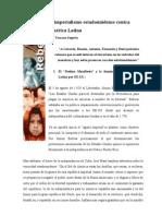 El imperialismo estadounidense contra América Latina - Dax Toscano Segovia