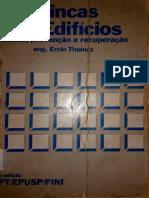 Ercio Thomaz, Eng. - Trincas Em Edifícios - EPUSP,