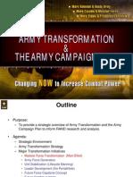 Us Army Transformation