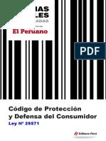Codigo de Protección y Defensa Del Consumidor