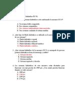 cuestionario sistema hidraulico