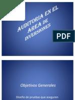 AUDITORIA EN EL AREA DE INVERSIONES