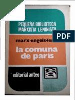 Marx-Engels-Lenin - La Comuna de París (Ed. Anteo)
