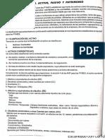 CLASIFICACIÓN DEL ACTIVO PASIVO Y PATRIMONIO