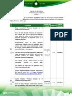Agenda de Aprendizaje M2