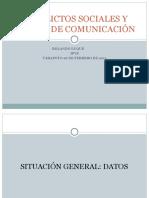 CONFLICTOS SOCIALES Y MEDIOS DE COMUNICACIÓN, Tarapoto febrero 2011 Expo Rolando Luque