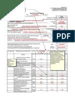 Пример заполнения бухгалтерского баланса за 2019 год