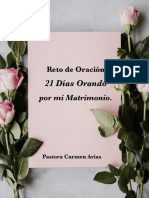 21 Dias Orando Por Mi Matrimonio - Carmen Arias