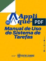 Manual Applique-se - Sistema e Tarefas