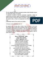 DOMINGO 2º DE CUARESMA