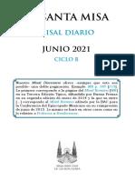 Misal Junio 2021