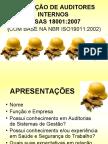 FORMAÇÃO DE AUDITORES INTERNOS OHSAS 18001_2007_ Parte 1  Norma