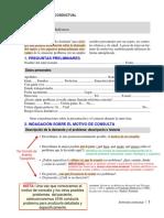 Ballesteros - Formato de entrevista conductual de evaluación inicial