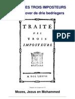 Baruch Spinoza - Traité des Trois Imposteurs