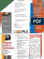 Programa Simposio Tuberculosis 2011, Baja California, MEXICO