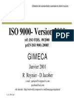 0 ISO 9000- Version 2000