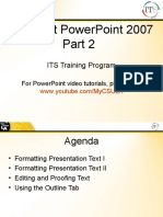 PowerPoint Tutorials - Formatting Presentations