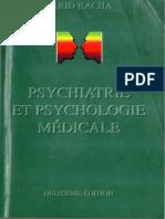 psychiatrie et psychologie médicale.KACHA