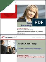 1 - Management Strategic