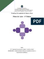 Modelo de Plano de Acao