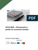 Manual Ufcd 9820 Orcamento