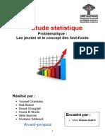 Rapport Final Statsitique Consommation Fast Food