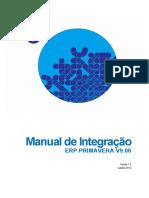 Manual de Integração Erp Primavera v9.00