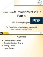 PowerPoint Tutorials - How to Make Charts & Tables