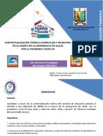 Contextualización Teorica Curricular y Municipal 2 Momento Pedagógico