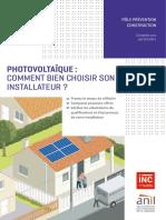 Pt Photovoltaique Bien Choisir Son Installateur