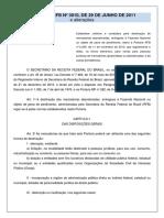 4.2 PORTARIA RFB 3010_2011-Destinação de Mercadorias