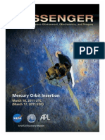 Messenger Mercury Orbit Insertion Press Kit