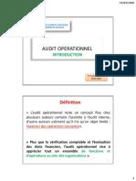 Introduction Audit Operationnel
