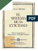El Sistema de La Eticidad (1802)