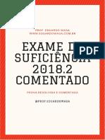 2018.2 Comentada