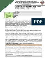 4. PLANIFICACIÓN CURRICULAR 2021_UGEL QUISPICANCHI_FORMATO Ciencia y Tecnología