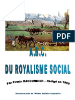 ABC du royalisme social