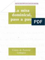 lligadas, josep - la misa dominical, paso a paso(cut)