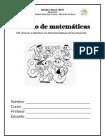 Cuadernillo de fracciones (Maura Troncoso )