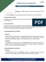 Contrato de Prestação de Serviços MSM -Escavação rev. 2