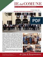 Notizie Dal Comune di Borgomanero del 03-06-2021
