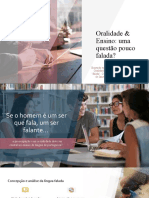 Oralidade & Ensino