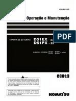 d51ex-22 d51px-22 Operacao Manutencao - b10001 Acima