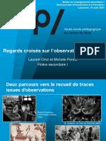 Presentation Observation Formation Pratique 2020 Fs1 Hep Vaud.ch