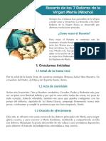 ROSARIO DE LOS 7 DOLORES DE LA VIRGEN MARIA (KIBEHO)