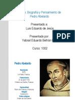 Biografia Pedro Abelardo