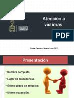 Atención a víctimas del delito (2017)