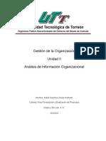 Gestión de La Organización Unidad II