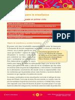 Diseño Curricular para la Escuela Primaria. Primer ciclo. Prácticas del Lenguaje