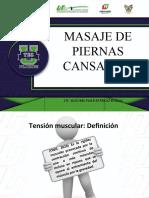 MASAJE PARA PIERNAS CANSADAS